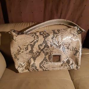 Joanel | animal snake print shoulder purse